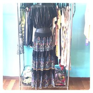 Two piece skirt with top